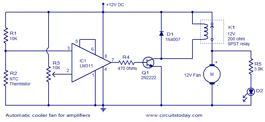 automatic cooler fan for amplifiers?resize\\\\\\\=665%2C307 imperial electric fan wiring diagram wiring diagram shrutiradio  at bayanpartner.co