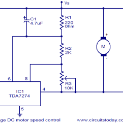 Control Wiring Diagram For Single Phase Motor Parts Of A Wave Low Voltage Dc Speed Circuit Electronic Circuits And