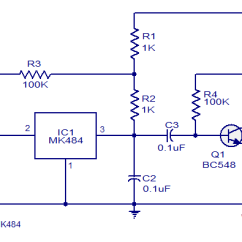 Simple Am Receiver Circuit Diagram 2012 Ford F150 Wiring Low Cost Designed Based On Ic Mk484 Using