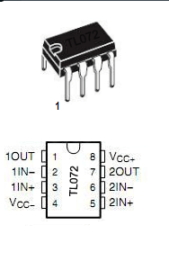 A quality tone control circuit using opamp and few passive