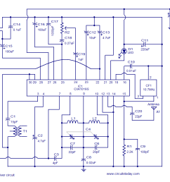 fm receiver circuit using cxa1019 3v to 7v operation 500mw output how fm antenna [ 1018 x 838 Pixel ]