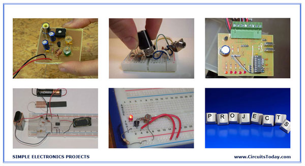 Simple Electronics Projects And Small Basic Hobby Projects Circuits