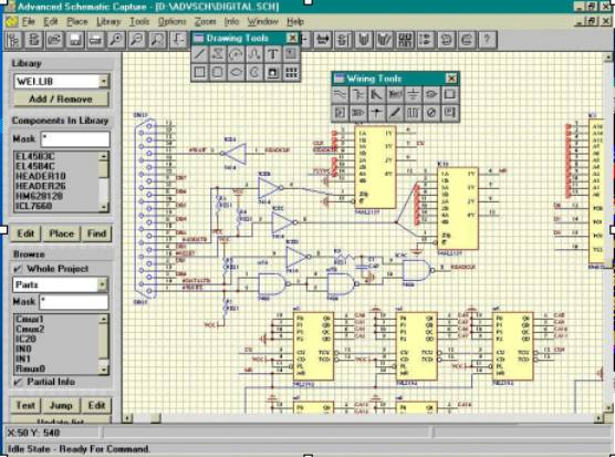 Free Electronic Circuit Diagram Schematic Drawing Software Download