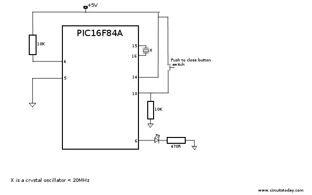 pic16f84a 8211 working with inputs