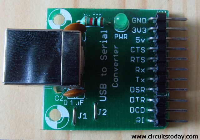 Transmitting Data From Pc To Lcd Using Uart Of Pic16f628a