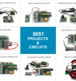 8051 based project kits and circuits [ 1024 x 768 Pixel ]