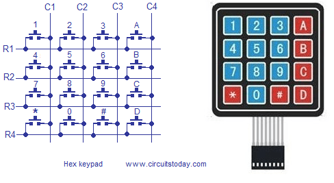 hex keypad arduino keypad wiring diagram iei 212i keypad wiring diagram at panicattacktreatment.co