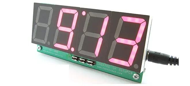 digital temperature controller circuit diagram 2007 polaris predator 500 wiring diy clock with display using pic