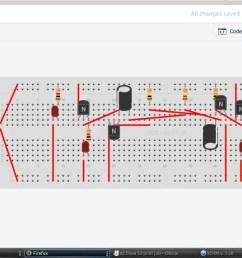 schematic drawing 123d circuits [ 1366 x 689 Pixel ]