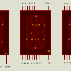 Led Circuit Diagram Mazda B2000 Alternator Wiring Proteus Tutorial - Using Single And Multiple Digit Segment Displays Electronic Circuits ...