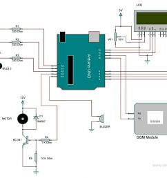 circuit diagram arduino home automation [ 1024 x 801 Pixel ]