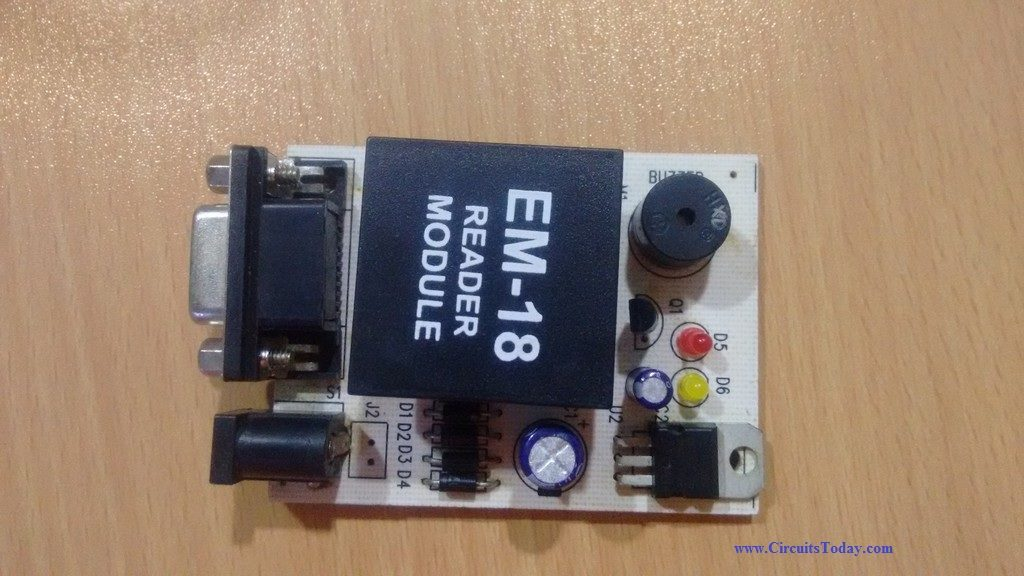 Rfid Reader Circuit Diagrampdf