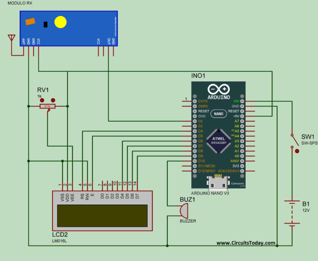 Water Level Indicator Sensor Circuit Arduino Hydroponics Project