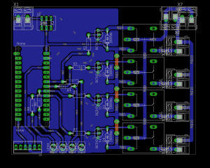 Home Automation Using IR Remote Control Working, PCB