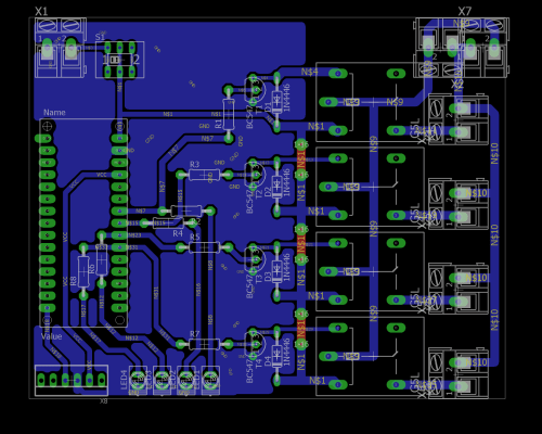 small resolution of home remote control systems pcb