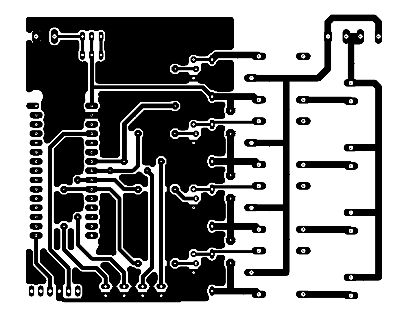 hight resolution of remote control house pcb