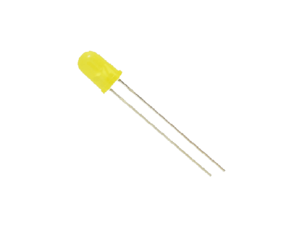 5mm Yellow LED - CircuitUncle - Buy in India