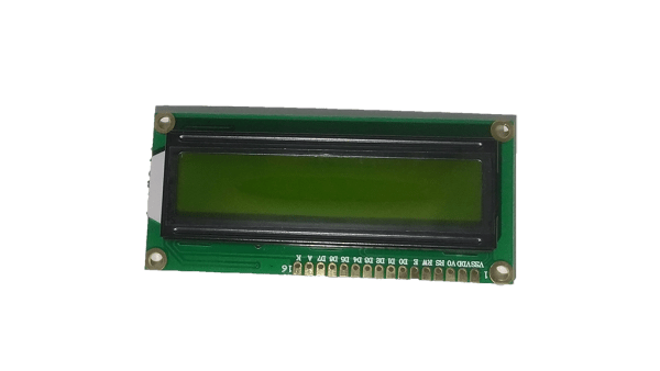 16x2-LCD Module (Green) Unsoldered Connecting Pins - CircuitUncle - Buy in India
