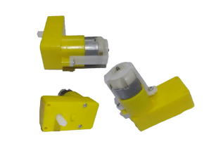 Plastic Gear DC Motor (1 Pc) (Single Shaft) – India