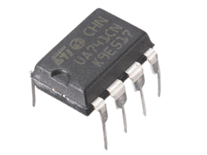 LM 741 Amplifier Op-Amp IC UA741CN – India