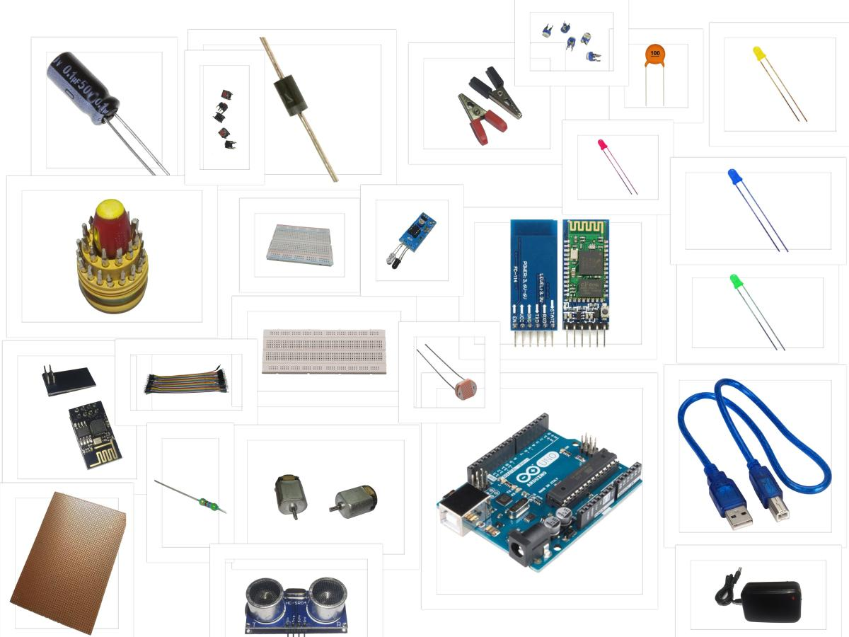 Best Arduino Starter Kit for Beginners in India. A low cost yet complete kit for Indian technology student or enthusiast.