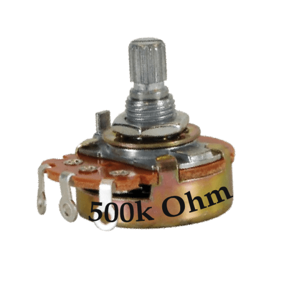 500k Ohm Potentiometer - Rotating Shaft - Buy in India - CircuitUncle