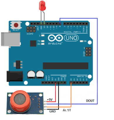 MQ3 Arduino UNO Alcohol Detector Circuit - Circuit Uncle - Buy online in India