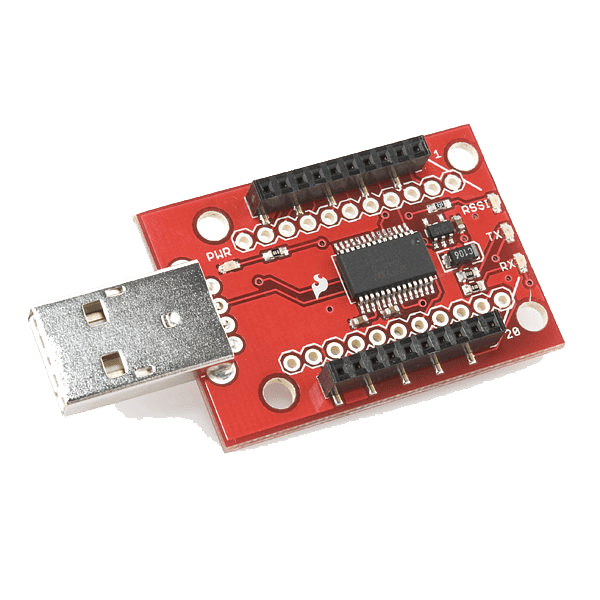 Xbee Zigbee Explorer Adapter with USB - A Type Connector - Circuit Uncle - Buy online in India