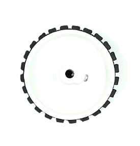 70mm x 20mm Plastic Robotic Wheel for 6mm Shaft Motor - Boy Online in India - Circuit Uncle