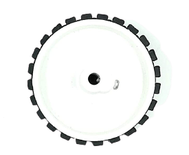 70 x 20 mm Robot Wheel for 6mm Shaft Motor – India