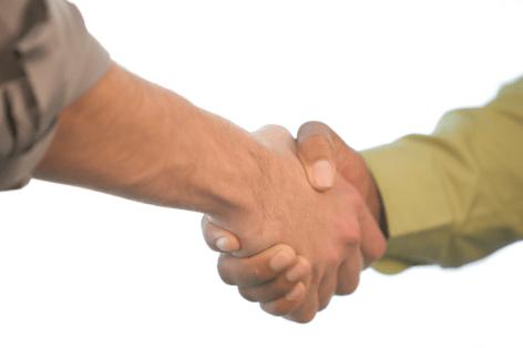 Handshake-informal