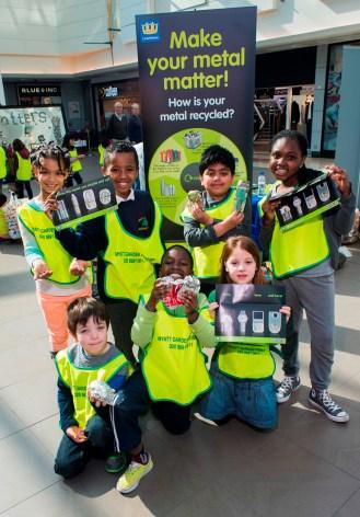 Lewisham launch with children