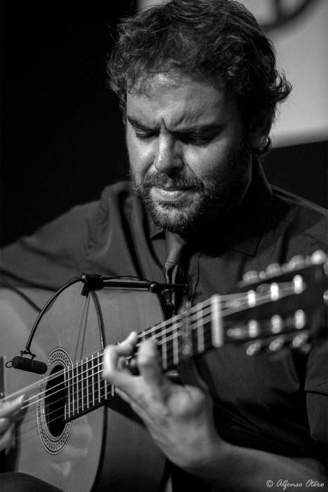 Foto de Dani de Morón en el Círculo Flamenco de Madrid, tomada por Alfonso Otero