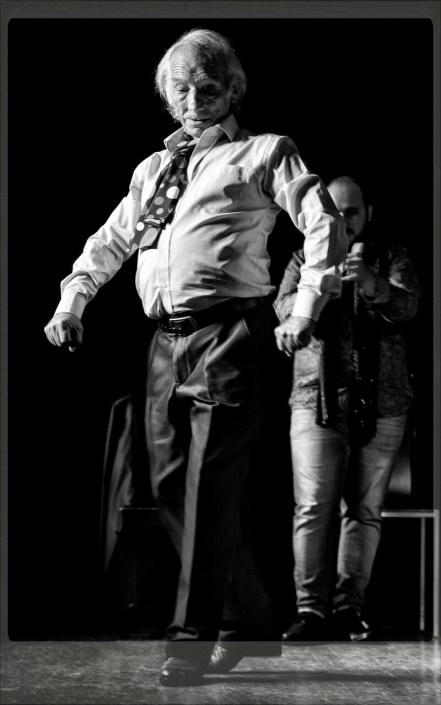 Foto de El Peregrino en el Círculo Flamenco de Madrid, tomada por Diego Gallardo