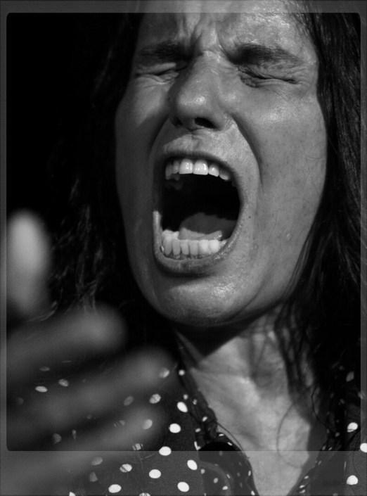 Foto de La Caita en el Círculo Flamenco de Madrid, tomada por Diego Gallardo