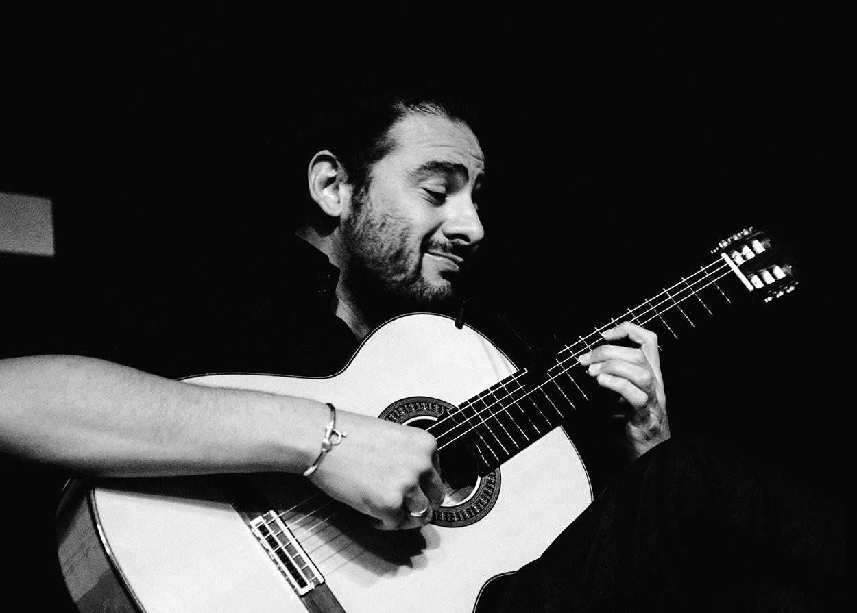 Foto de Diego del Morao en el Círculo Flamenco de Madrid