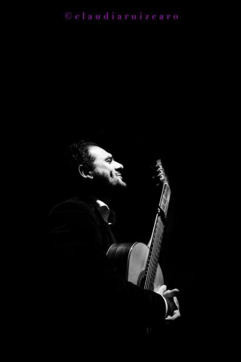 Foto de Diego del Morao en el Círculo Flamenco de Madrid, tomada por Claudia Ruiz