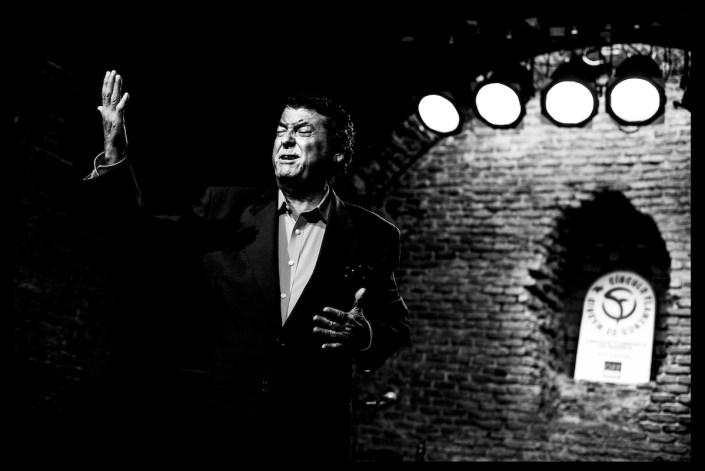 Foto de Luis el Zambo en el Círculo Flamenco de Madrid, tomada por Claudia Ruiz