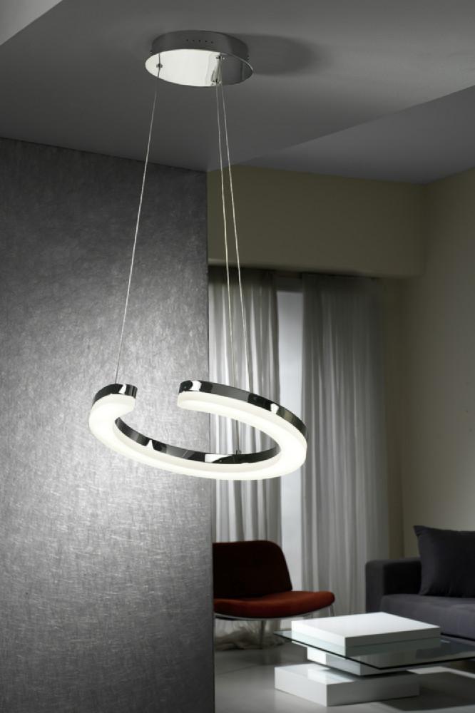Lmpara colgante de iluminacin LED