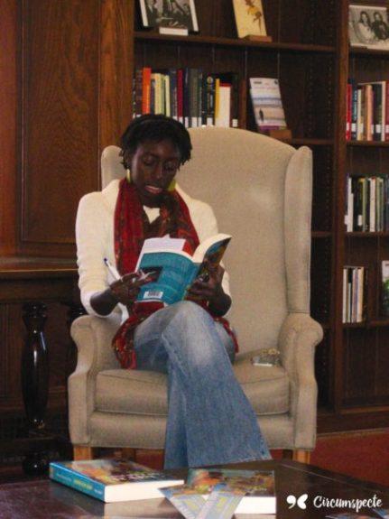 Ayesha Harruna Attah, Ghaniaan author of Harmattan Rain and Saturday's Shadows