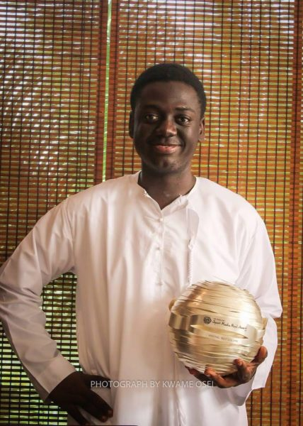 Fiifi Anaman, Best Column Winner, Sport Media Pearl Awards