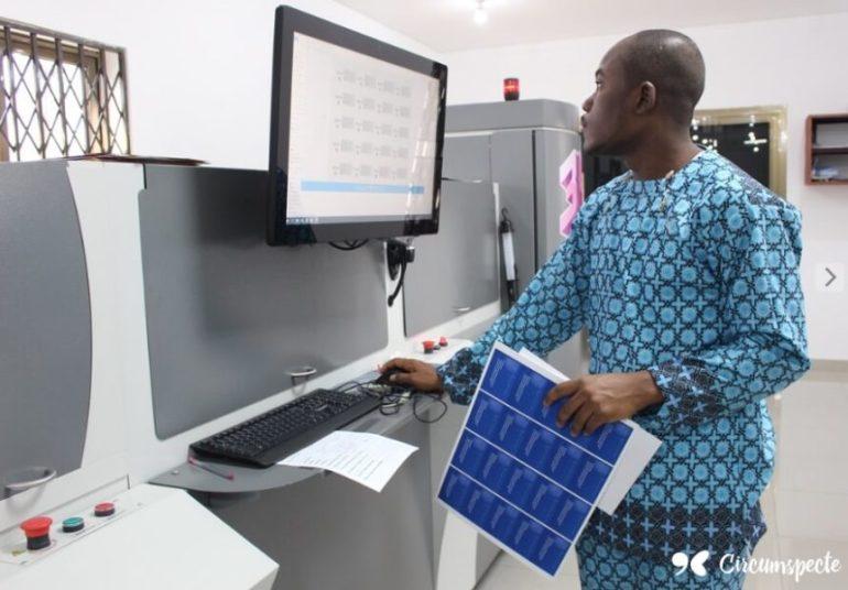 3D Printing at Lema Press Ghana - Circumspecte