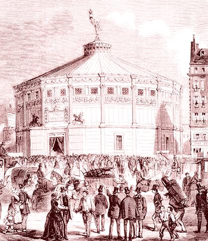 Le Cirque Napoléon - Cirque en 1852