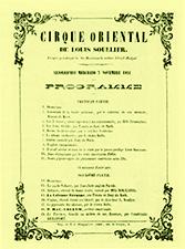 Cirque Oriental - Cirque en 1852