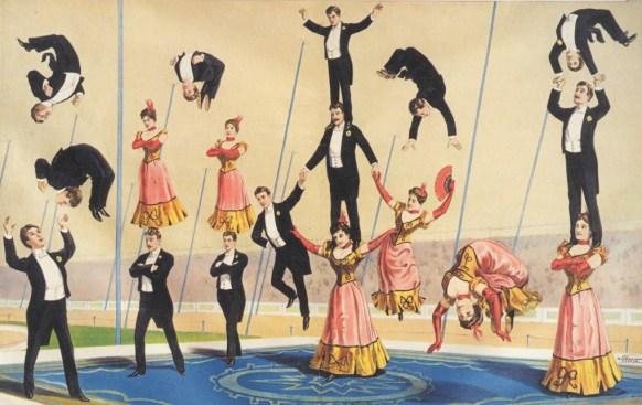 A comme acrobates - Encyclopédie du Cirque
