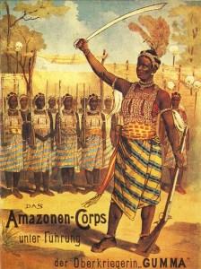Amazones du Dahomey - Encyclopédie du Cirque