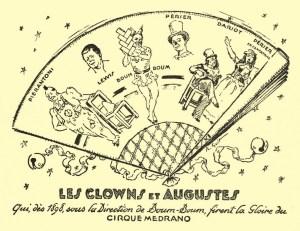 clowns de Medrano - Boum-Boum par Roger Guit