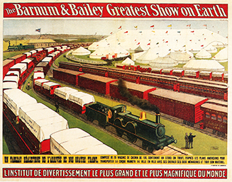Barnum & Bailey Circus en France en 1902