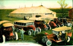 Les véhicules du Zoo Circus - les cirques motorisés