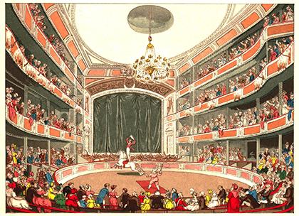 Astley en 1804 - Encyclopédie du Cirque